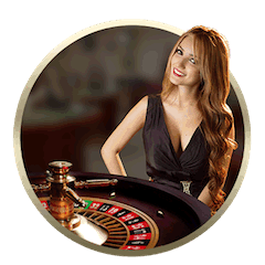 Live Dealer At Roulette Table