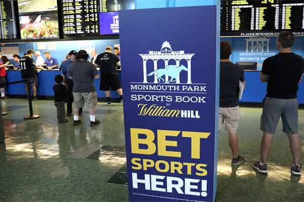 New Jersey Sports Betting Monmouth Park