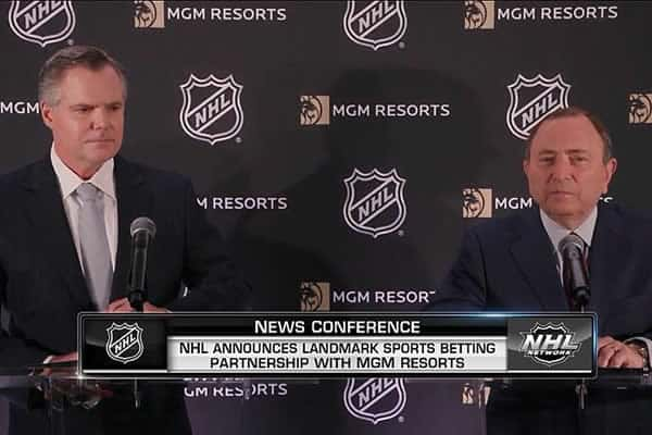 NHL announces partnership with MGM
